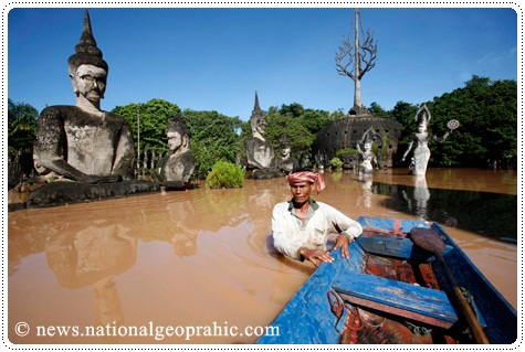Flood in Laos