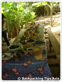 Lunch at Ock Pop Tok in Luang Prabang