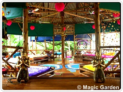 Magic Garden in Lonely Beach, Koh Chang