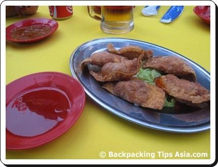 Fried dumplings in Kuala Lumpur