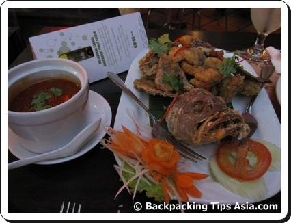 Food at Bangkok Jam Restaurant in Kuala Lumpur