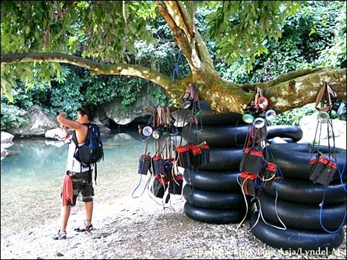 Me at Tham Nam Water Cave in Vang Vieng