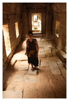 Me at Preah Khan site