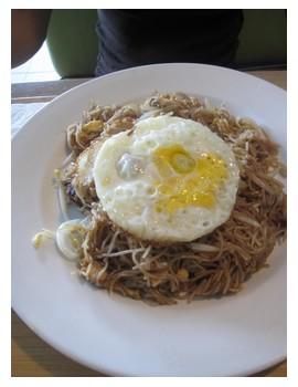 Mee Hon Goreng dish in Kota Kinabalu