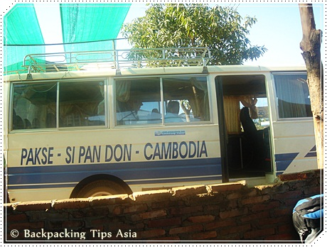 Minivan from Nakasang to Siem Reap