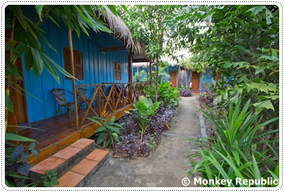 Bungalows at Monkey Republic in Sihanoukville