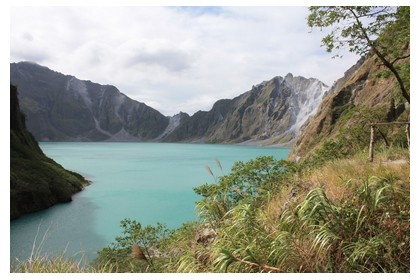 December weather in Mount Pinatubo, the Philippines