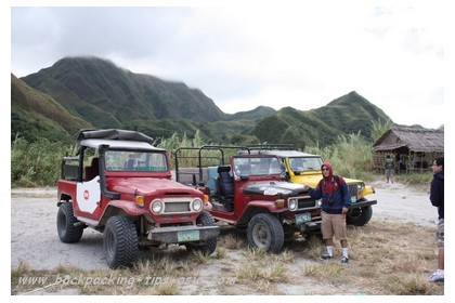 Jeepneys to mt. Pinatubo, Philippines