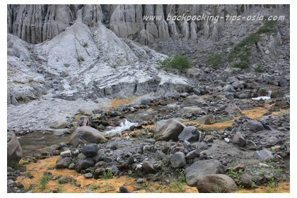 Rocks at Mt. Pinatubo