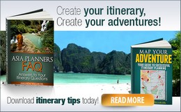 Map Your adventure and Asia Planners FAQ