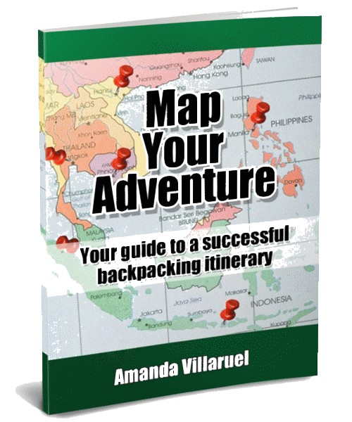 map your adventure backpacking 3D cover