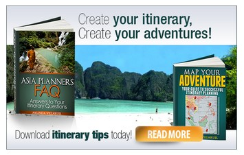 Map Your adventure itinerary guide eBook