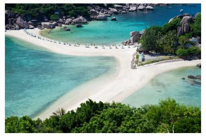 Nangyuan island in south Thailand, ©iStockphoto.com/Morten Normann Almeland