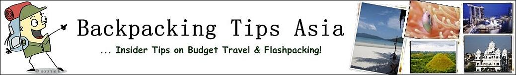 Backpacking Tips Asia Header