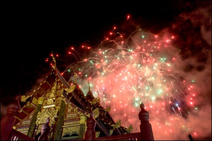New Year's Eve in Thailand, ©iStockphoto.com/Kevin Landwer-Johan