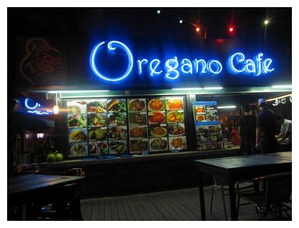 Oregano cafe in Kota Kinabalu