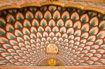 Peacock gate at City Palace complex in Jaipur, India, ©iStockphoto.com/John Woodworth
