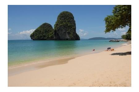 Phra Nang beach in Thailand, ©iStockphoto.com/Jörg Ahlrep