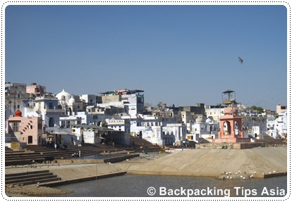 Lovely Pushkar in Rajasthan, India