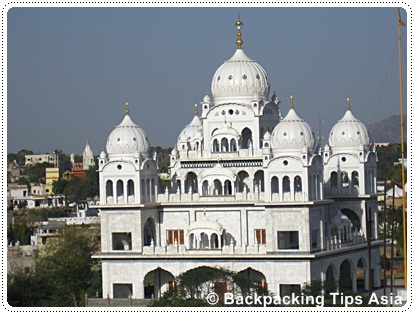 Sikh temple in Pushkar, India