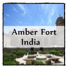 The attraction Amber Fort in Jaipur, North India