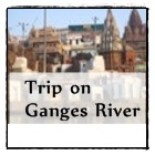 Ganges river in Varanasi, north India