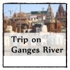 Ganges river in Varanasi, north India