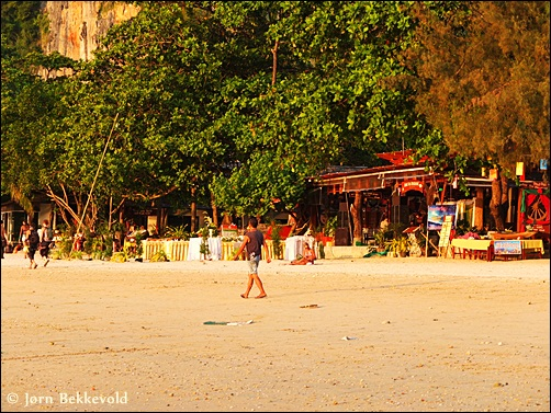 Restaurants on west side in Railay Krabi