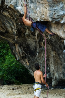 Climbing in Thailand, ©iStockphoto.com/CWLawrence