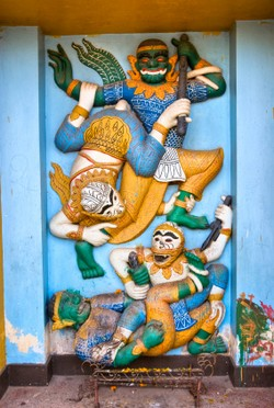 Ramayana in Vientiane, Laos
