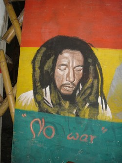 At Rasta Cafe in Chiang Mai Thailand