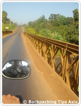 Driving to Bolaven Plateau
