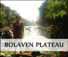 Tad Pha Suam falls in Pakse, Laos