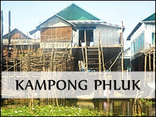 Kampong Phluk in Cambodia