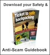 ticket to safe backpacking ebook cover