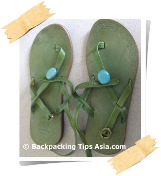 Sandals from Corsair Boutique in Bangkok, Thailand