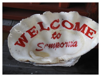 Welcome to Semporna in a shell