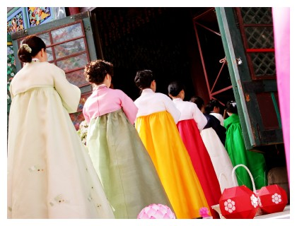 Ceremony at a temple in Seoul, ©iStockphoto.com/Ginaellen