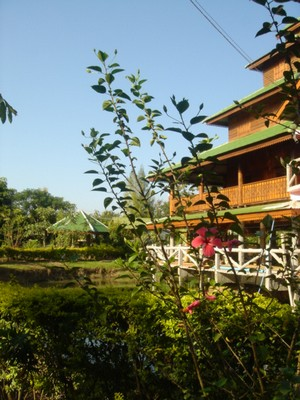 Shan guesthouse in Pai, Thailand