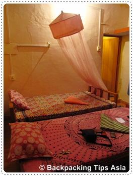 Double room at Shiva Garden in Varkala, India