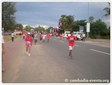 Sihanoukville marathon event, photo courtesy of cambodia events.org