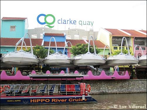 Clark Quay in Singapore