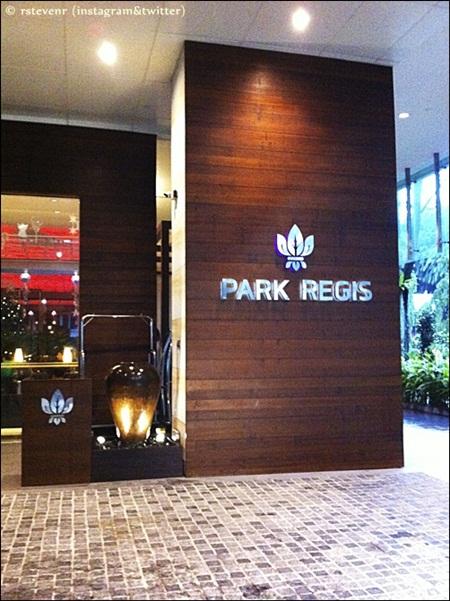 Hotel Park Regis in Clark Quay, Singapore