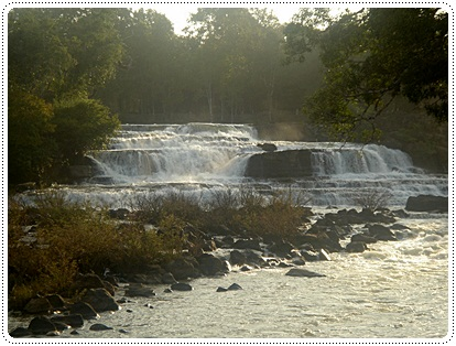tad lo waterfalls in Bolaven Plateau