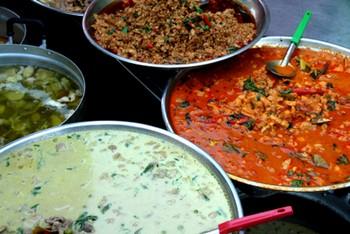 Food on Ko Chang island
