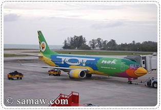nok air airplane