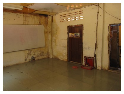 Tiny toones class room in Phnom Penh, Cambodia