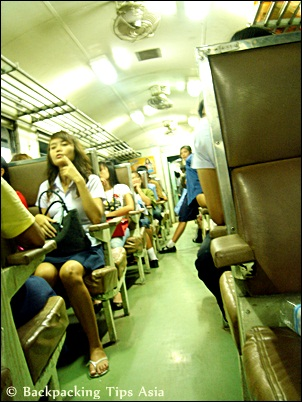 Train in Thailand