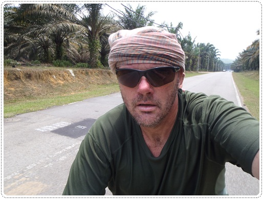 peter van der lans cycling in malaysia