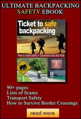 ticket to safe backpacking 3D cover
